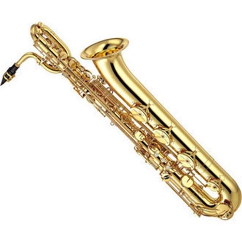 yamaha saxophone. yamaha intermediate baritone saxophone used key of eb low a