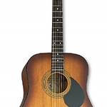 Samick D1CEBS Tobacco Sunburst Dreadnought w/ pickup