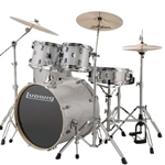 Ludwig 6pc Element Evo White w/ cymbals and hardware