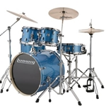 Ludwig Element Evo 5pc Blue w/ 20""